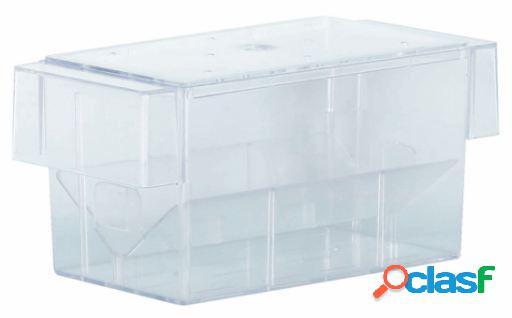 Trixie Paridera Acuario, Con Tapa, Plástico, 16X7X7 Cm