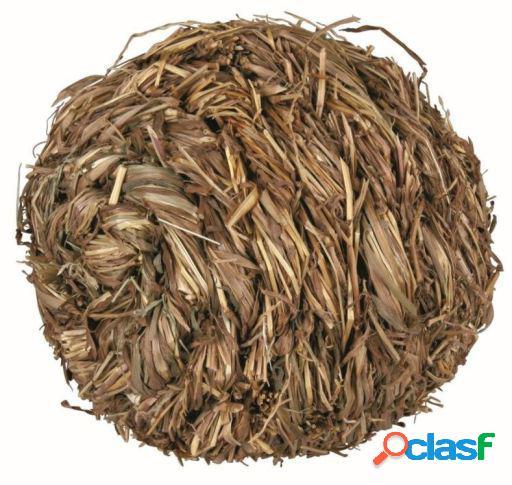 Trixie Pelota de Hierba con Cascabel 10 cm