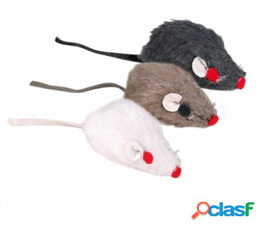 Trixie Ratón de Peluche con Cascabel 5 cm