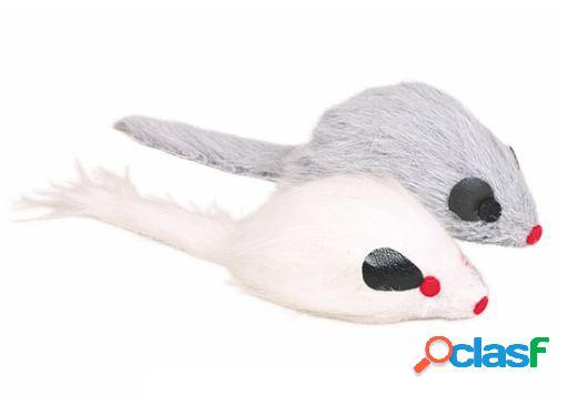 Trixie Ratón de Peluche con Sonido 9 cm