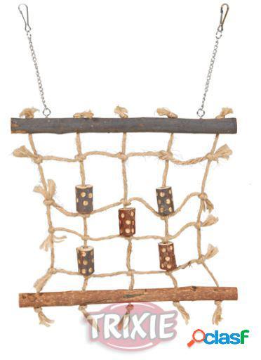 Trixie Red de Escalada de Cuerda 11x17x17 cm