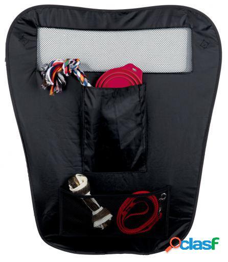 Trixie Separador Seguridad Coche, Nylon, 60/44x69Cm Negro
