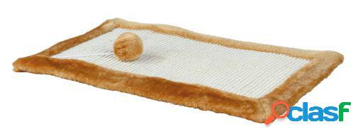Trixie Tabla rascadora con borde peluche, 55x35 cm
