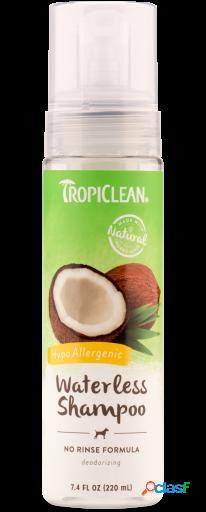 TropiClean Waterless Champú Hipoalergénico 218 ml 218 ml