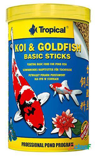 Tropical Koi&Goldfish Basic Stick Bag10L/800 gr 10 L