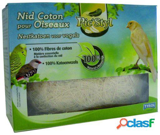 Tyrol Nido de algodón para pájaros 350 GR