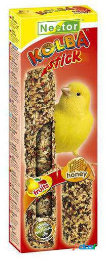 "Tyrol Sticks ""2In1"" For Canaries - Honey And Fruits 258 gr"