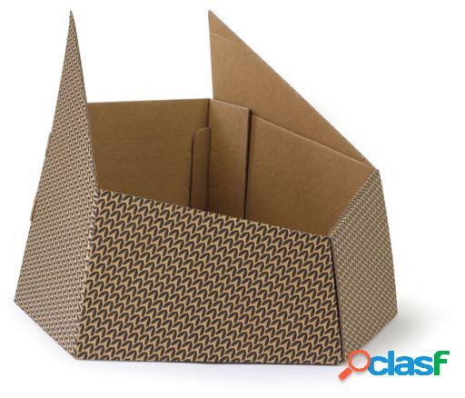 United Pets Caja de carton para gatos - Kitty