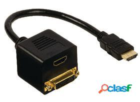 Valueline Cable adaptador hdmi conector hdmi dvi d 24+1