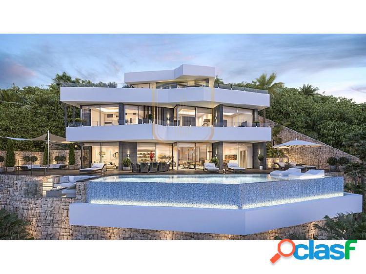 Villa moderna de nueva construcción