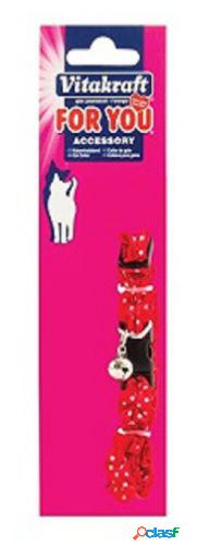 Vitakraft Collar para Gatos Con Volantes Nylon