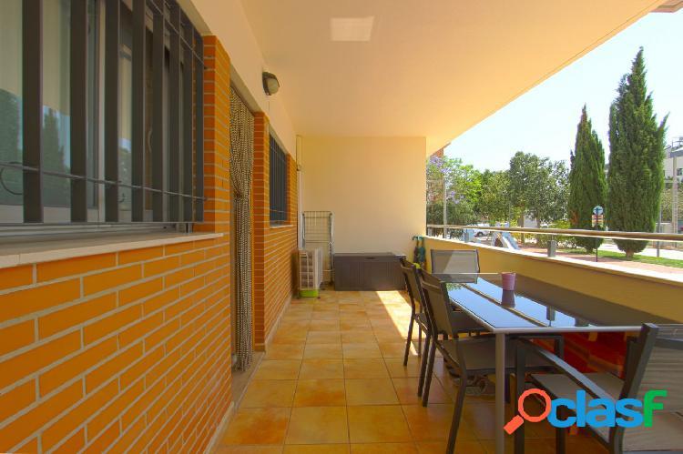 Vivienda en planta baja con terraza y acceso independiente