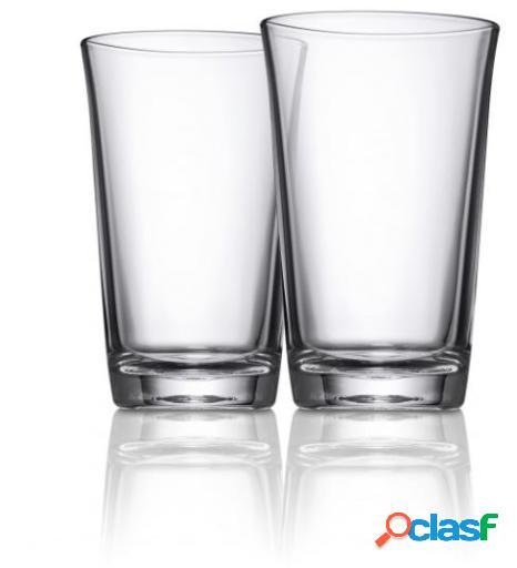 WMF Juego 2 Vasos Agua Alto 0,25L-12,4Cm.Basic