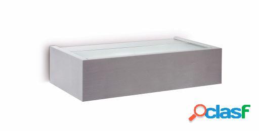 Wellindal Aplique Ambo-1 Aluminio Cepillado 1 X E27 15W