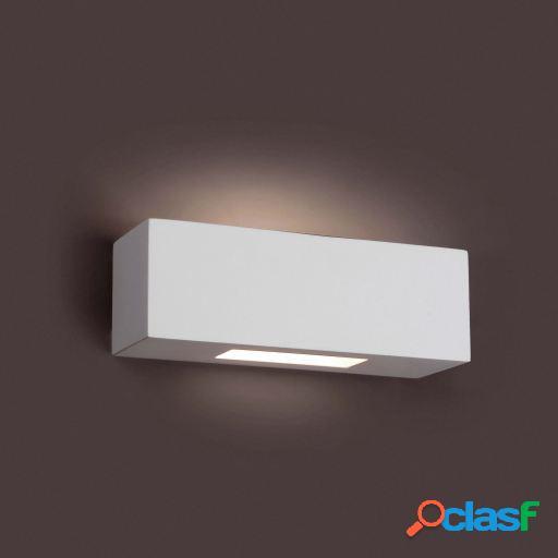 Wellindal Aplique Cheras-3 Blanco 1 Luz G9 40W