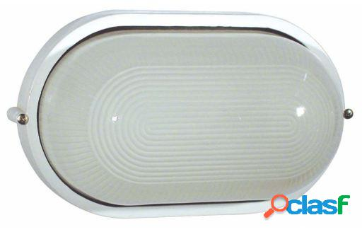 Wellindal Aplique Derby-G Fundición Blanco 1 Luz E27 100W