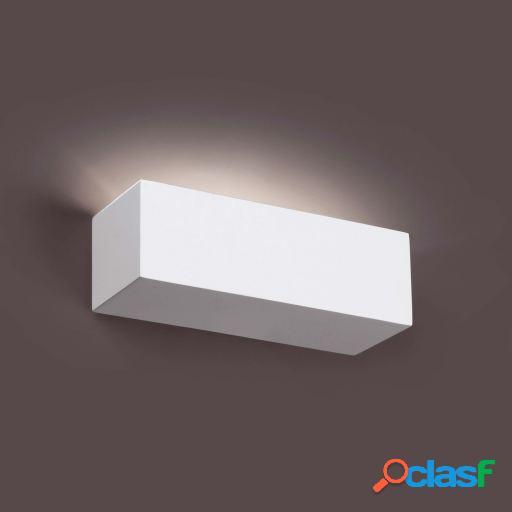 Wellindal Aplique Eaco-1 Blanco 1 Luz G9 40W