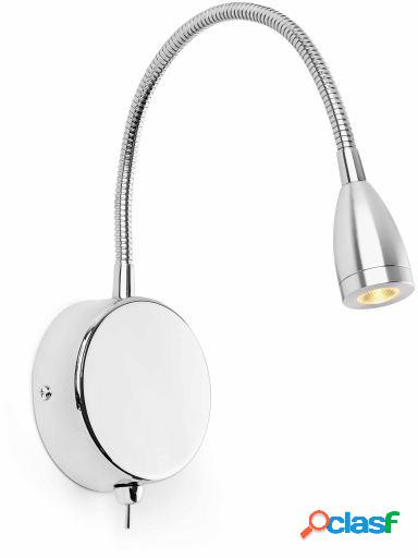 Wellindal Aplique Loke Lector Led 3W 3000K Blanco