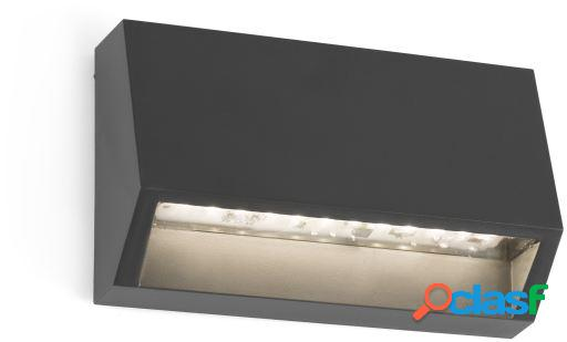 Wellindal Aplique Must-1 Gris Oscuro Led 1.5W 3000K