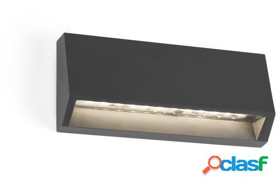 Wellindal Aplique Must-2 Gris Oscuro Led 3W 3000K