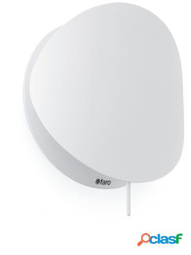 Wellindal Aplique Ovo-P Blanco Mate R7S 78Mm