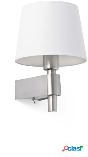 Wellindal Aplique Room 1 X E27 20W Blanco