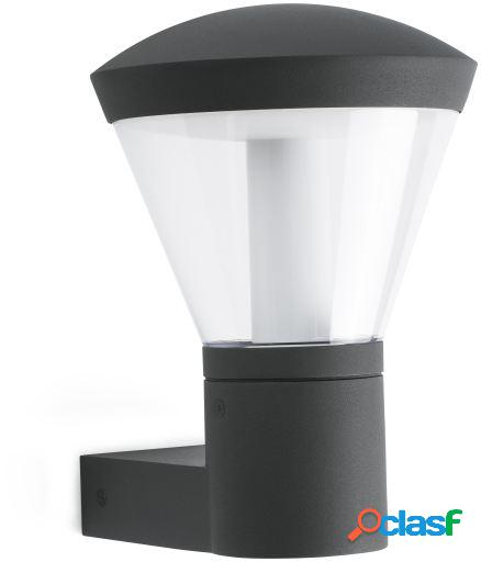 Wellindal Aplique Shelby Gris Oscuro Led 10W 3000K