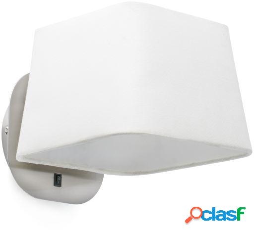 Wellindal Aplique Sweet 1Xe27 15W Blanco