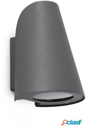 Wellindal Aplique Tinia Gris Oscuro E27 60W