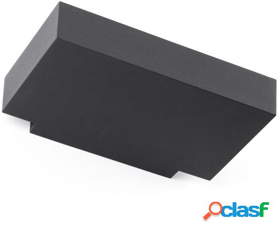 Wellindal Aplique Tore Gris Oscuro Led 30W 3000K