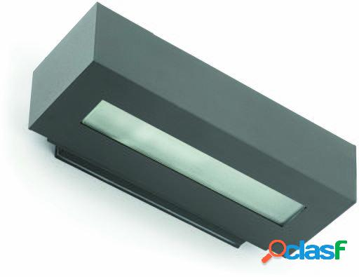 Wellindal Aplique West-2 E27 100W Ip54 Gris Oscuro