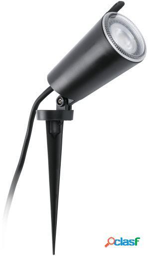 Wellindal Aplique estaca toni negra led gu10 8w ip65