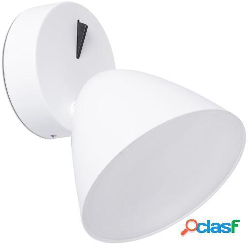 Wellindal Aplique flash 1 luz led 10w 3000k Blanco