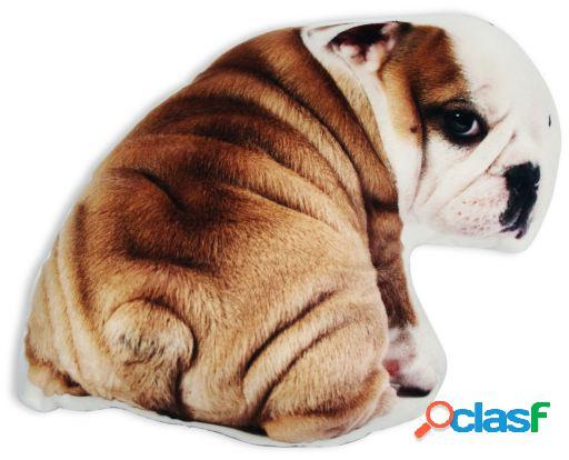Wellindal Cojín Con Forma 3D Bulldog