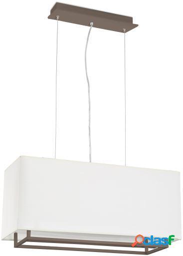 Wellindal Colgante Vesper 60 Cm 2Xe27 20W Blanco