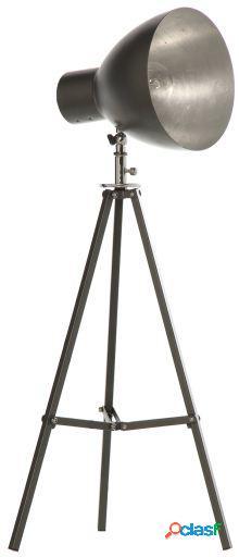 Wellindal Lampara tripode metal hierro