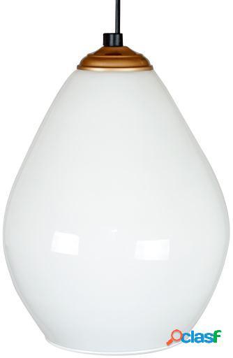 Wellindal Lámpara Drops Blanco Opalina Terminación