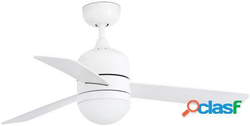 Wellindal Ventilador Con Luz Cebu 106Cm Blanco 3 Palas 2 X