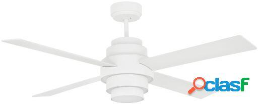 Wellindal Ventilador Con Luz Disc Fan 132 Cms Blanco 4 Palas