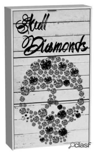 Wellindal Zapatero 3 Trampones Skull Diamonds