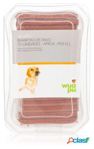 Wuapu Barritas de Pavo para Perros 70 Unidades
