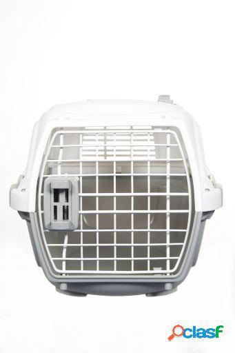 Wuapu Transportín de plástico IATA para Perros y Gatos