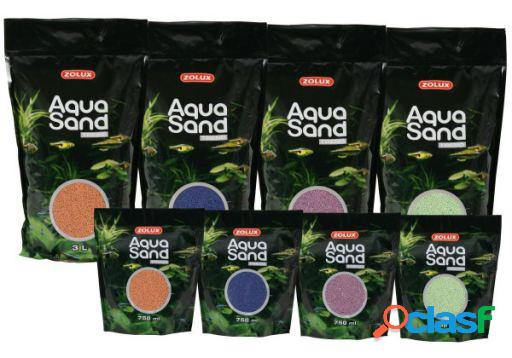 Zolux Aquasand Azul Marino para Acuario 3 L
