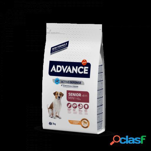 Advance Pienso Mini +8 Senior Pollo y Arroz 1.5 Kg