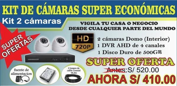 CAMARAS DE SEGURIDAD HD Y FULL HD -