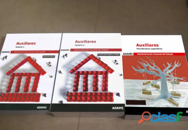 Oposiciones Libros Auxiliar Administrativo del Estado 2019