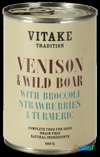 Vitake Comida Humeda para Perros Tradition con Venado y