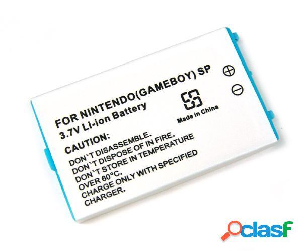 Bateria Nintendo Game Boy Advance Sp, Litio Ion