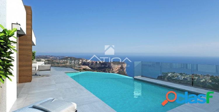Exclusiva villa de diseño moderno situada en Cumbre del