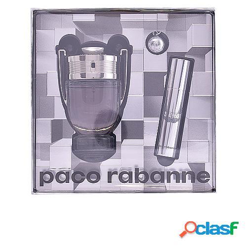 PACO RABANNE INVICTUS LOTE 2 pz